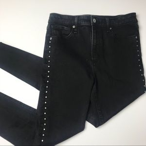 Abercrombie & Fitch Simone High Rise Skinny 28 S